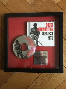 Bruce springsteen -Greatest hits, Platinum award