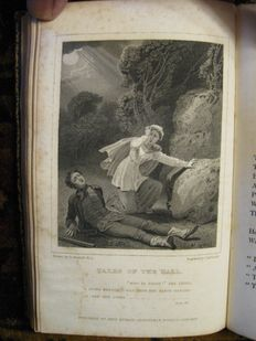 George Crabbe - Tales of the Hall […] A New Edition - 3 volumes - 1820