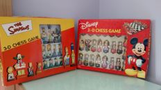 Lot of Simpsons chess and Disney - 2000