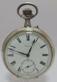 Cannon – Unique hand-made pocket watch, Lepine and Remontoir – Circa 1900