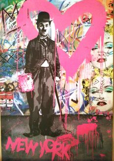 Mr Brainwash - Chaplin New York