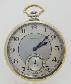 Longines. Pocket watch. Lepine and Remontoir. Circa, 1922.