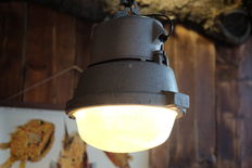 Industrial miner's lamp