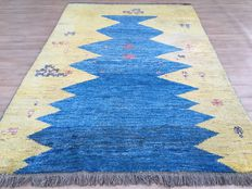 Persian hand-woven GABBEH - oriental rug - approx. 288 x 203 cm - 20 century