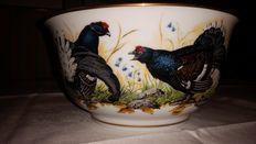 Franklin porcelain - The Game Bird Bowl