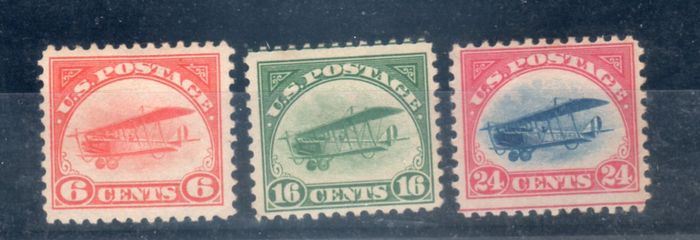 United States Of America 1918 – Plane Curtis Jenny – A1-A3