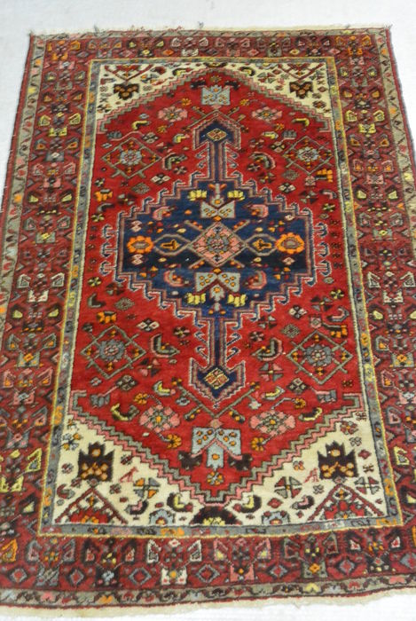 Very beautiful semi-antique Persian carpet - 185 x 130 cm Beginning of the 20th century