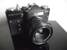 Old Zenit EM camera with lens from the USSR