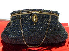 Hand-Made in France in 19th century –  Belle Epoque – handbag