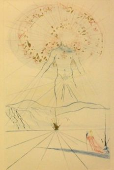Salvador Dalí -The Bridegroom Leaps upon the Mountains