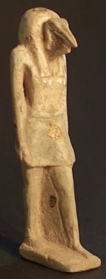 Egypt: Ex-voto of Thoth, Ibis walking - 8.5 cm.