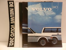 VOLVO documentation from 1971 onward with starting from 66GL and 480 Convertible (press binder) up to the 960
