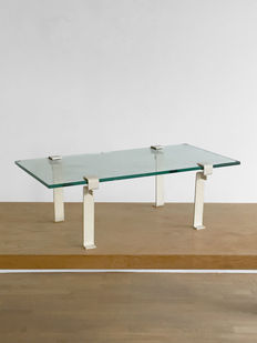 Francois Arnal for Atelier A - coffee table T9 model clamp feet