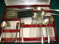 Old cutlery 38 piece.