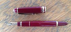 Montblanc Meisterstuck Burgundy red, gold tip, 4810 14 k