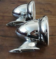 Beautiful Chrome Bullet Style Wing Mirrors - pair