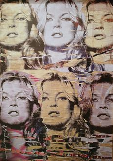 Mr Brainwash - Icons - Kate Moss