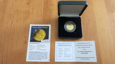 Germany - medal 'Introduction of the Euro' 2002 with case and certificate of authenticity