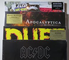 AC/DC / Apocalyptica / Duff McKagan (former bassplayer of Guns N' Roses) / Dutch Steel (The definitive 34-track Anthology of 80s Metal From The Netherlands!) * 6LP's, partly on limited, numbered, 180 gram coloured vinyl!