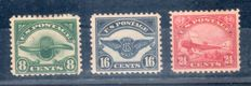 United States 1923 – Night air service - A4 / A6