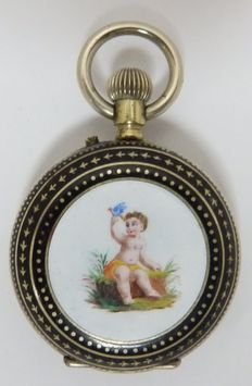 Pocket and pendant watch, Lepine and Remontoir. Circa 1890.
