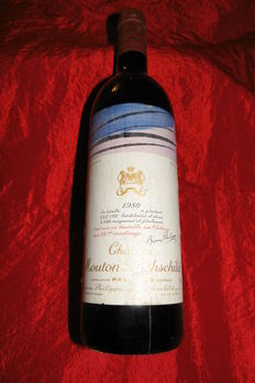 1980 Chateau Mouton Rothschild, Premier Grand Cru Classé - 1 bottle