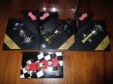 Quartzo / Minichamps - Scale 1/43 - Lot with 4 models: 2 x Lotus 49 F1 & 2 x Lotus 72 F1