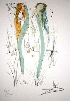 Salvador Dali (after). Return, Return, Shulamite (Suite Song of Songs of Solomon)