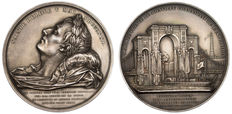 France - Napoleon I - Medal 'Return from the ashes / Passage in Rouen' 1840 - Silver Bronze