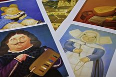 Fernando Botero - 5 colourful posters after the originals