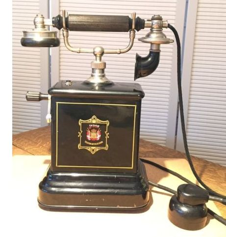Old phone, JYDSK, Denmark, approx.1910