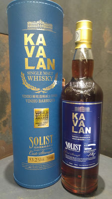 Kavalan Solist Vinho Barrique Single Cask Single Malt Whisky Cask Strength 53.2%