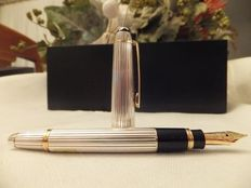 Montblanc Solitaire Ag925 - Sterling Silver Mozart No. 1148 Fountain Pen