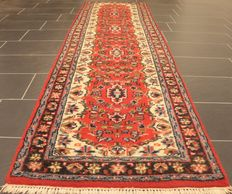 Orient carpet Indo Nain runner 80 x 307 cm made in India at the end of last century