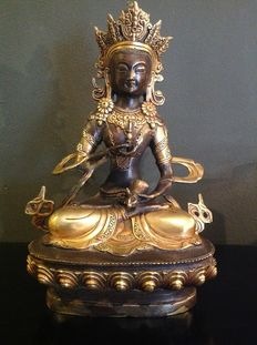 Bronze vajrasattva – Nepal – late 20th / early 21st century
