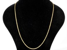 18 kt gold necklace chain ***OLYMPIC***