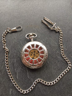 Collection pocket watch - silver-plated