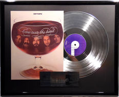 "Deep Purple - Come taste the Band - 12"" german Purple platinum plated record with cover by WWA Awards"