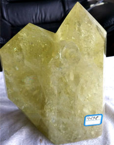 Decorative giant Citrine Crystal - 220 x 150 mm - 4.5 kg