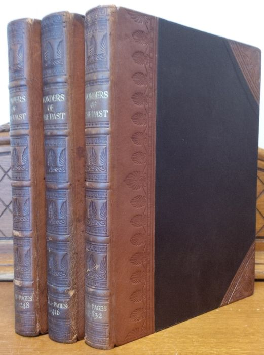 J.A. Hammerton - Wonders of the Past - 3 Volume Set - 1924