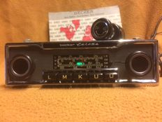 Becker Europe car radio - chrome - properly playing LMKU=FM