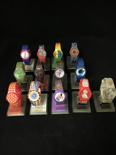Artist watches Chaos Watch Edition  1-13 , 1991-1995