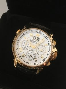 "CALVANEO +1583 ""Astonia Chrono One Gold"" – men's wristwatch – 2016"