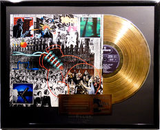 "10CC - Greatest Hits 1972 - 1978 -  12"" golden german Mercury plated record with cover by WWA gold Awards"
