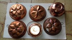 Nice lot of 6 copper panels.