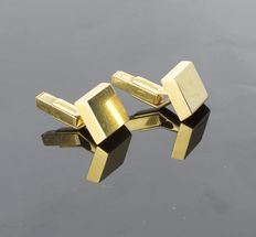 Solid gold 18kt cufflinks