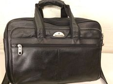 Samsonite - Leather briefcase/laptop bag in neww condition