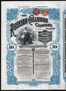 England/Russia - Russian Collieries Company - 1902
