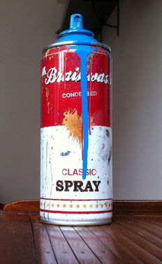Mr Brainwash - Spray Can (Cyan)