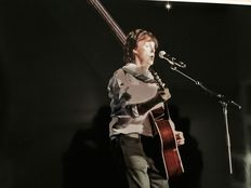 Paul McCartney original colour photo Ziggo Dome 2015